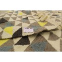 Colorful triangular Scandinavian carpet