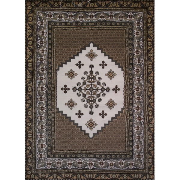 Brown Oriental Carpet