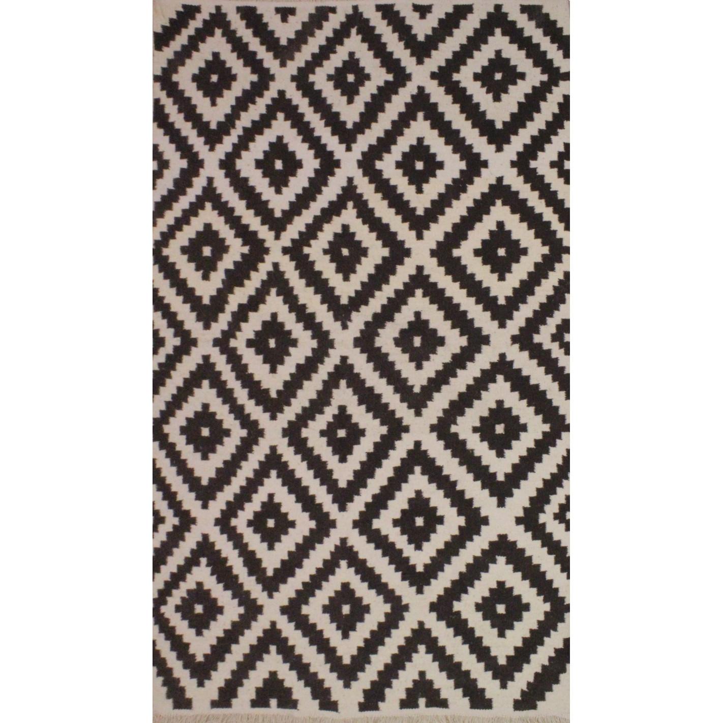 tapis style scandinave gris et blanc margoom. Black Bedroom Furniture Sets. Home Design Ideas