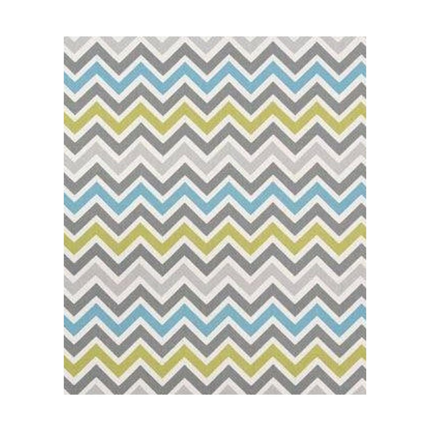 tapis style scandinave zigzag bleu ciel margoom