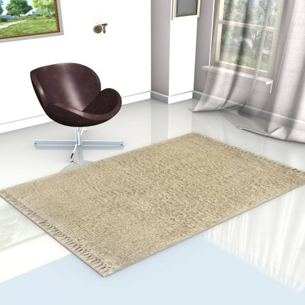 white berber carpet solid color