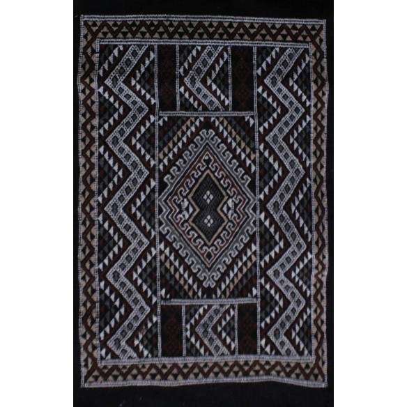 Tapis Margoom Traditionnel Noir