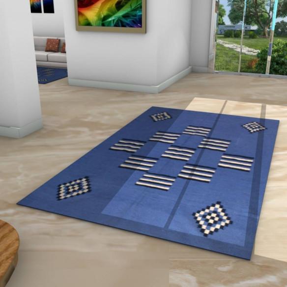tapis kilim couloir losange mouchet. Black Bedroom Furniture Sets. Home Design Ideas