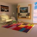 tapis kilim rayé