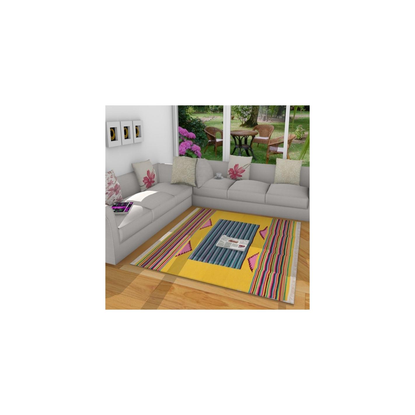 tapis kilim couloir ray. Black Bedroom Furniture Sets. Home Design Ideas