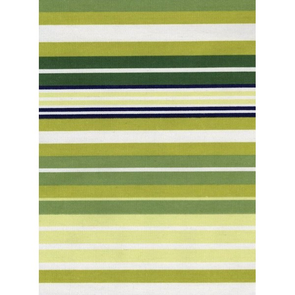 Tapis kilim rayé coloré vert