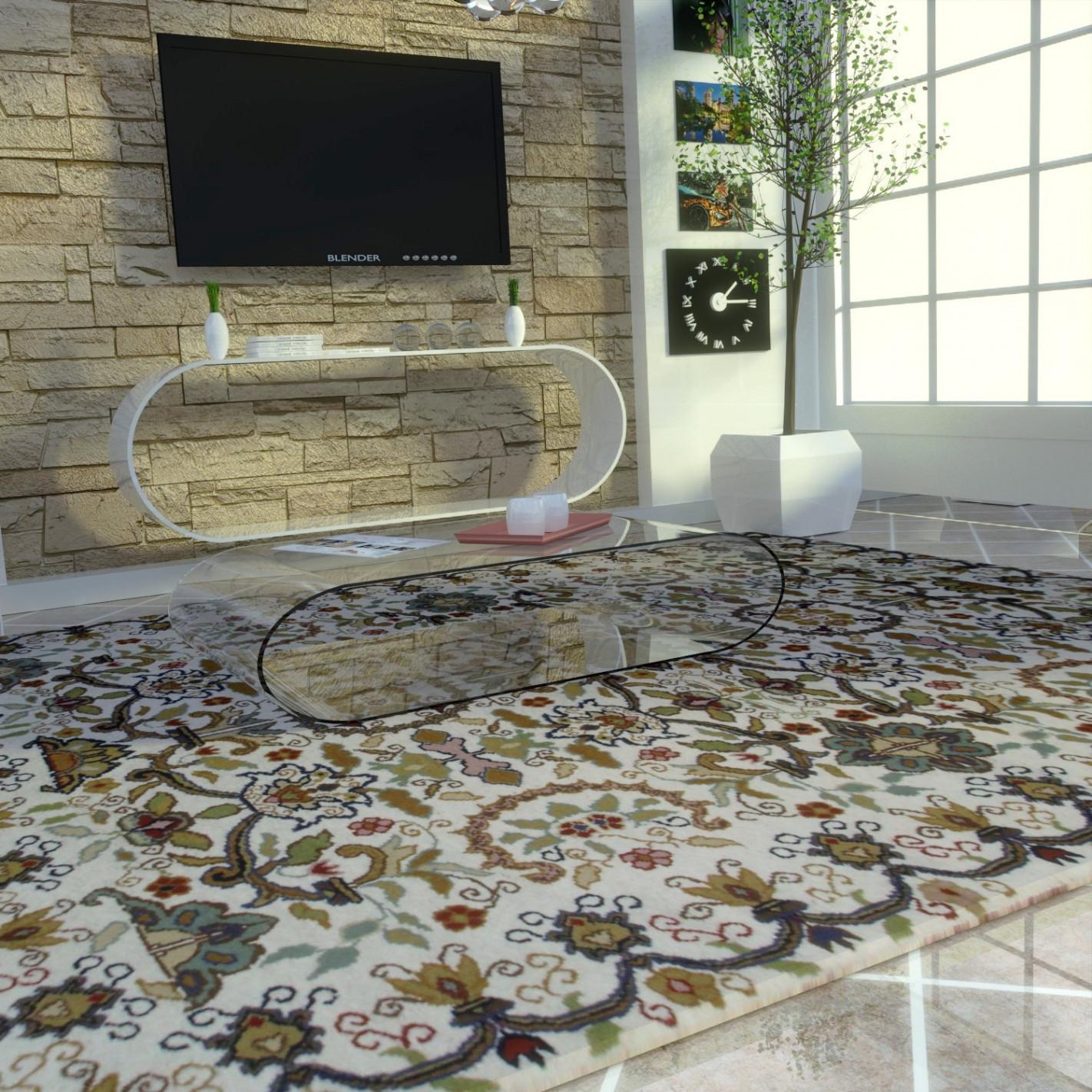 tapis chic pour salon. Black Bedroom Furniture Sets. Home Design Ideas