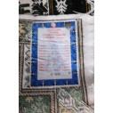 tapis soie traditionnel jolie motif