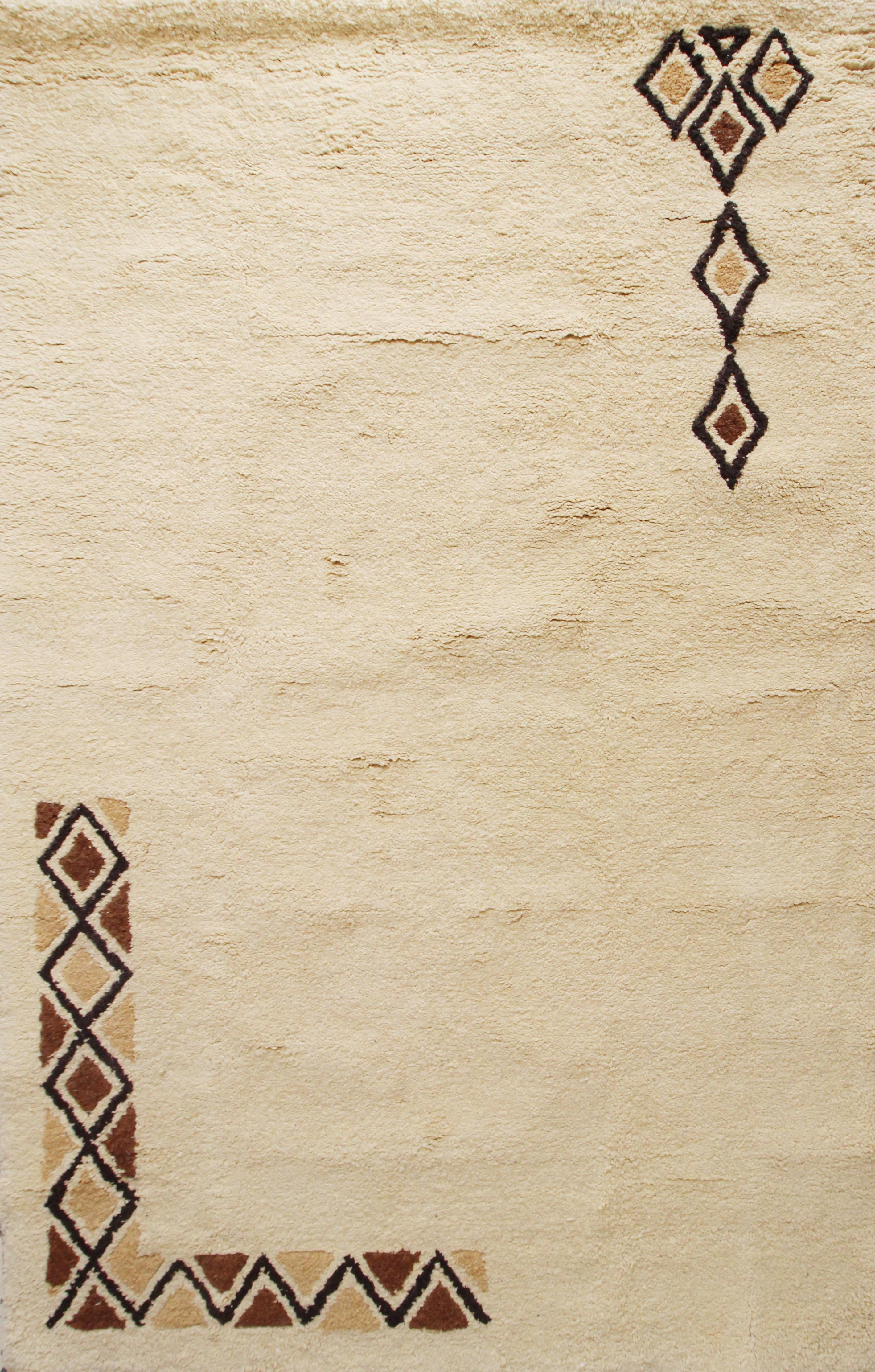 tapis en laine berbère mélange de couleur? 100% artisanal
