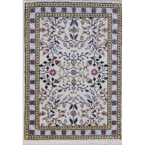 Tableau motif jasmin en soie