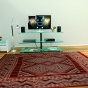 Modern carpet Red diamond pattern