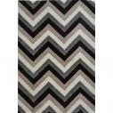 Tapis kilim zigzag