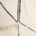 Tapis berbère blanc simple