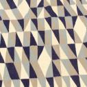 Tapis scandinave nuances bleu
