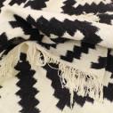 Tapis style scandinave Noir et blanc