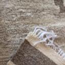 Tapis kilim gris mélange