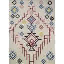 Tapis style berbère multicolore intérieur