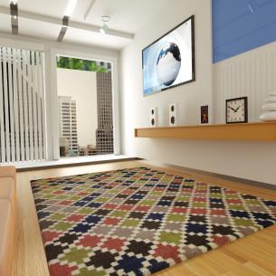 tapis berb re color margoom. Black Bedroom Furniture Sets. Home Design Ideas
