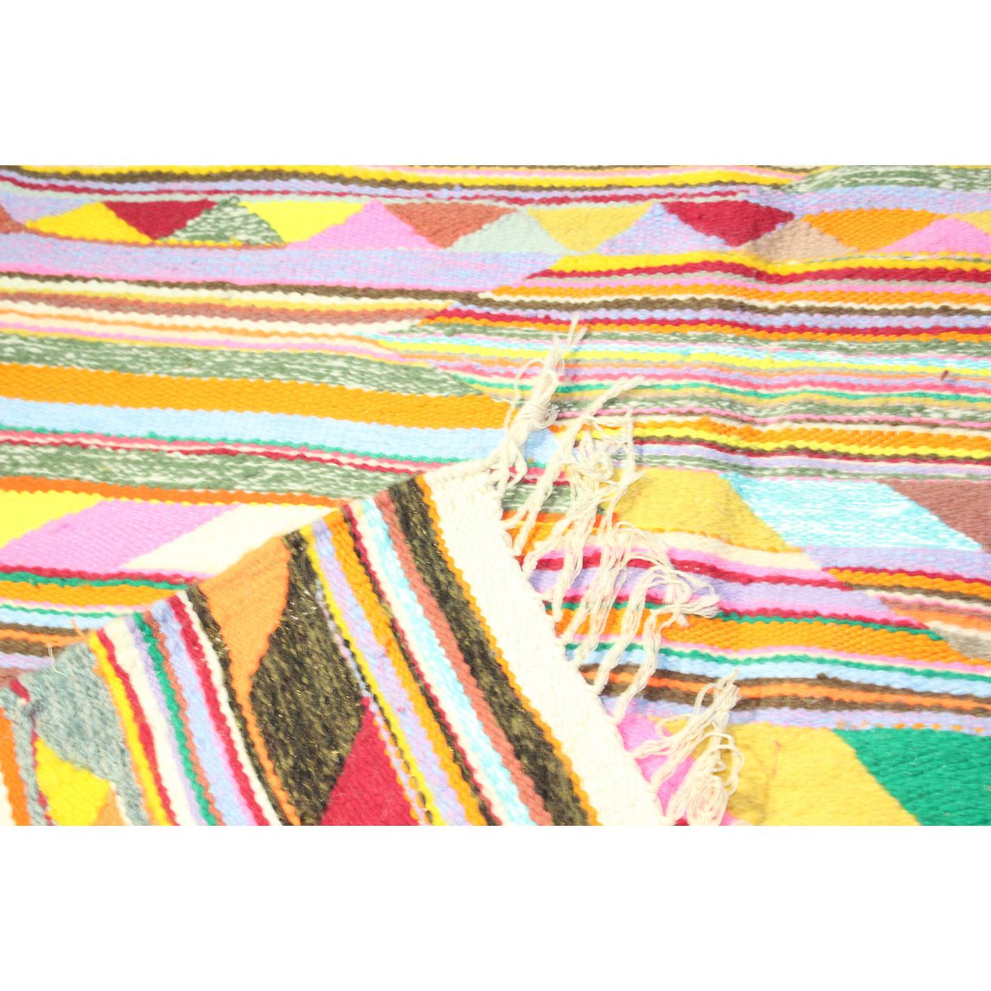 tapis kilim multicolore margoom. Black Bedroom Furniture Sets. Home Design Ideas