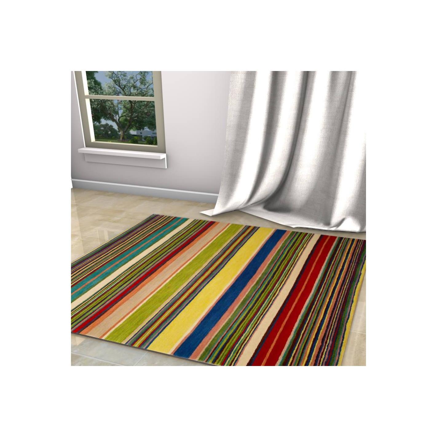 tapis kilim ray color - Tapis Kilim