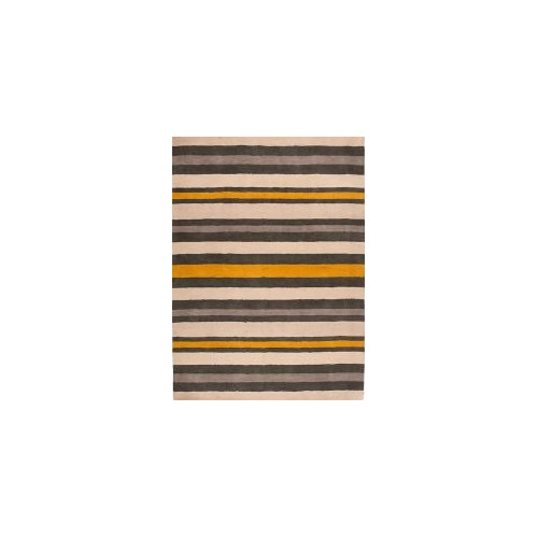 tapis kilim rayé multicolor