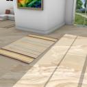 Tapis kilim margoom rayé