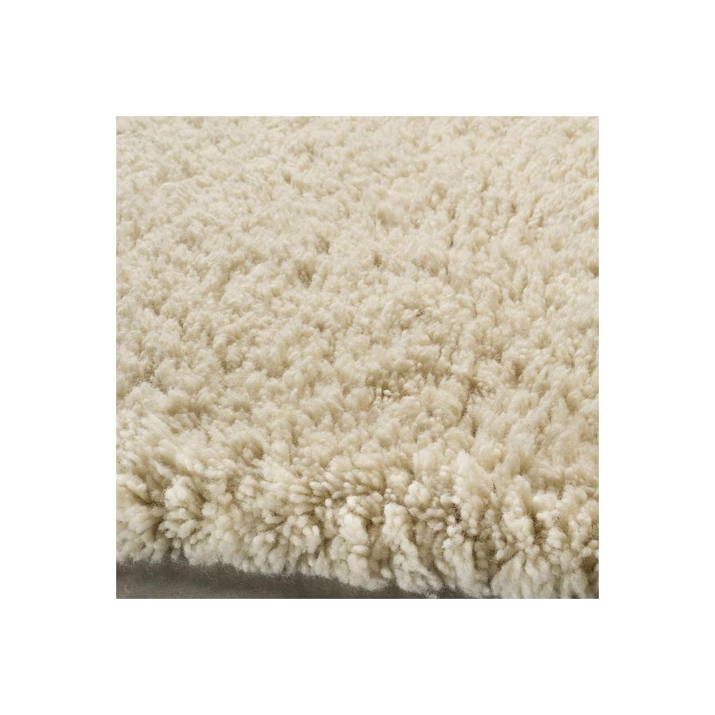 White Berber Carpet Solid Color