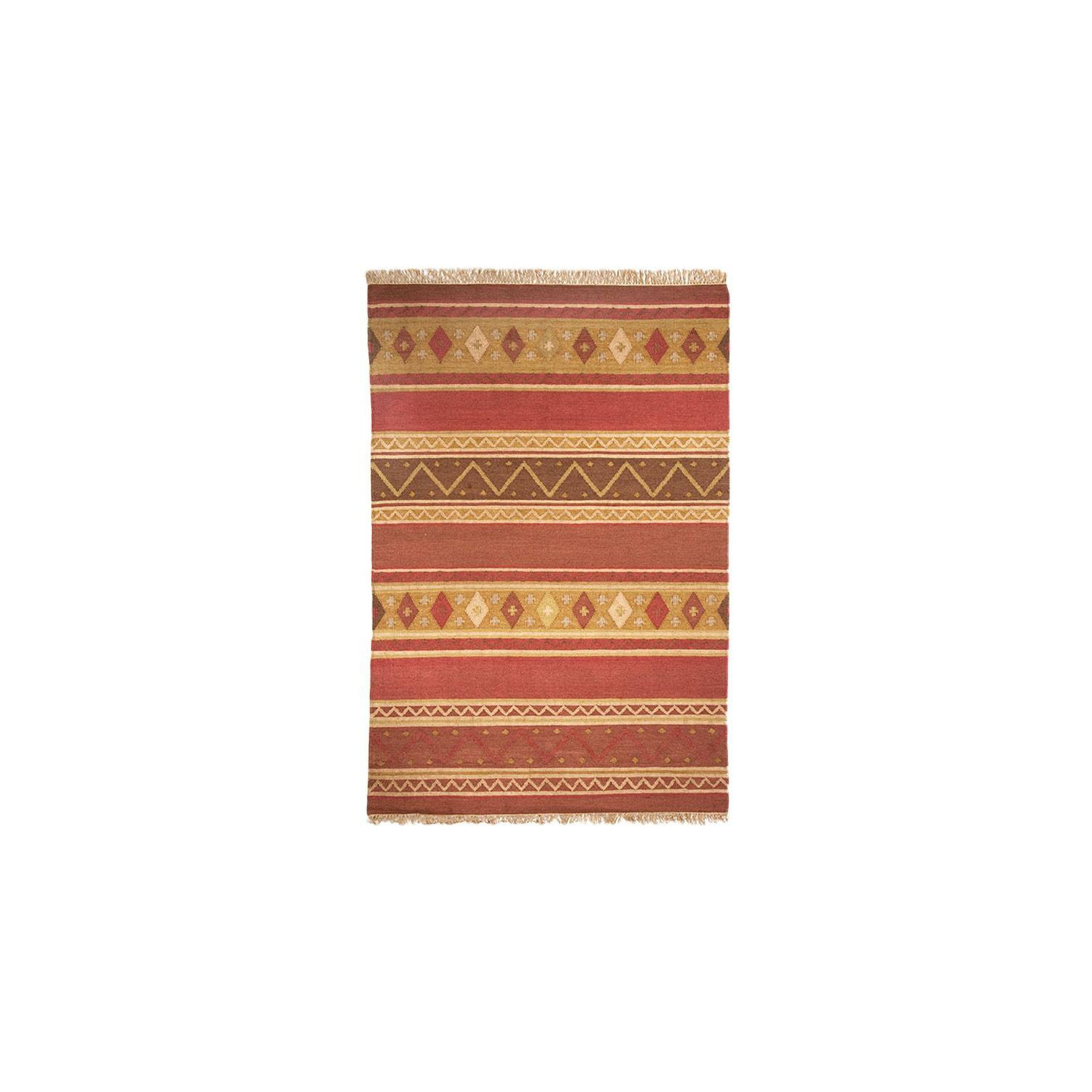 Tapis kilim multicolore margoom - Tapis patchwork multicolore ...